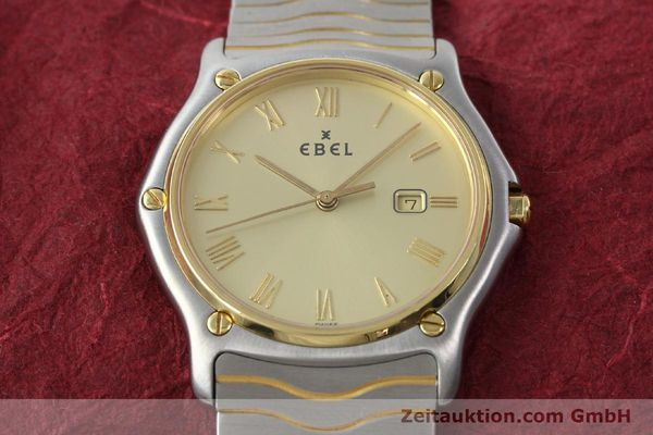 Used luxury watch Ebel Classic Wave steel / gold quartz Kal. 83 Ref. 183903  | 141739 13