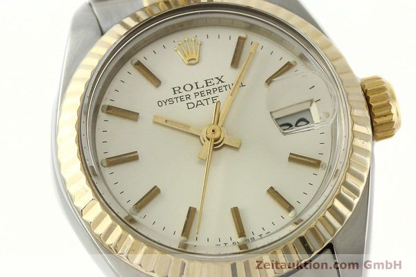Used luxury watch Rolex Lady Date steel / gold automatic Kal. 2030 Ref. 6917  | 141740 02