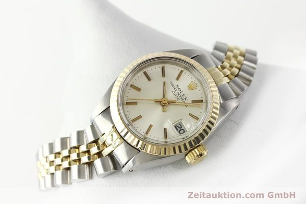 Used luxury watch Rolex Lady Date steel / gold automatic Kal. 2030 Ref. 6917  | 141740 03