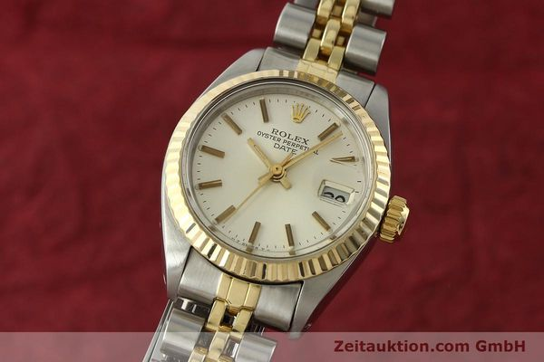 Used luxury watch Rolex Lady Date steel / gold automatic Kal. 2030 Ref. 6917  | 141740 04
