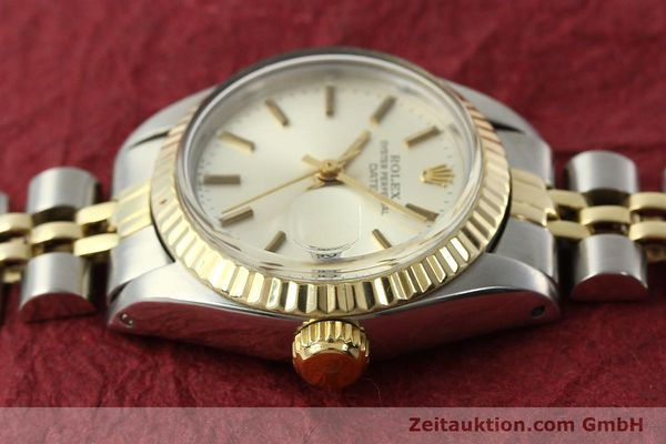 Used luxury watch Rolex Lady Date steel / gold automatic Kal. 2030 Ref. 6917  | 141740 05