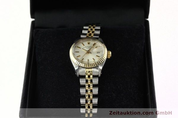 Used luxury watch Rolex Lady Date steel / gold automatic Kal. 2030 Ref. 6917  | 141740 07