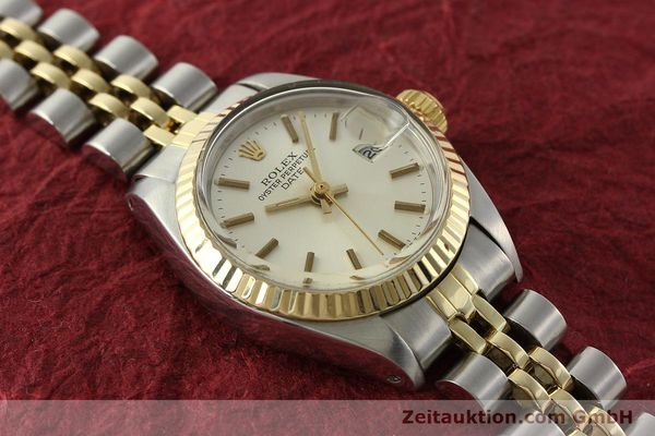 Used luxury watch Rolex Lady Date steel / gold automatic Kal. 2030 Ref. 6917  | 141740 14