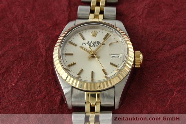 Used luxury watch Rolex Lady Date steel / gold automatic Kal. 2030 Ref. 6917  | 141740 15