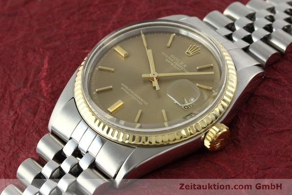 Used luxury watch Rolex Datejust steel / gold automatic Kal. 1570 Ref. 1601  | 141741 01