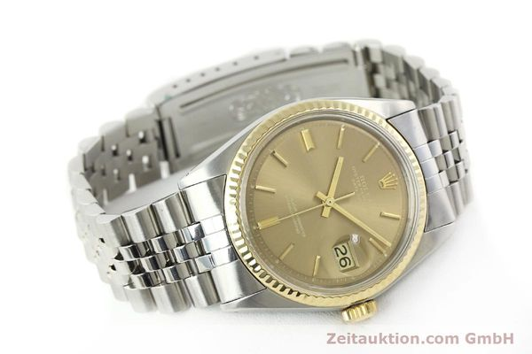 Used luxury watch Rolex Datejust steel / gold automatic Kal. 1570 Ref. 1601  | 141741 03
