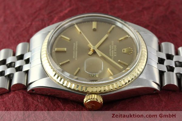 Used luxury watch Rolex Datejust steel / gold automatic Kal. 1570 Ref. 1601  | 141741 05