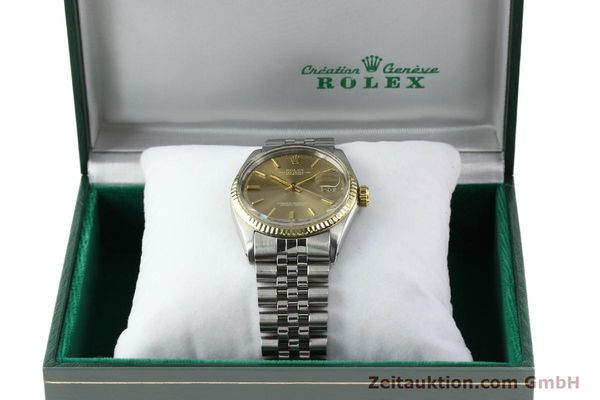 Used luxury watch Rolex Datejust steel / gold automatic Kal. 1570 Ref. 1601  | 141741 07