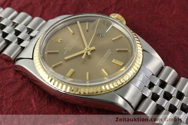 Used luxury watch Rolex Datejust steel / gold automatic Kal. 1570 Ref. 1601  | 141741 14