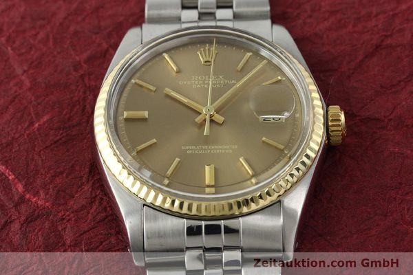 Used luxury watch Rolex Datejust steel / gold automatic Kal. 1570 Ref. 1601  | 141741 15