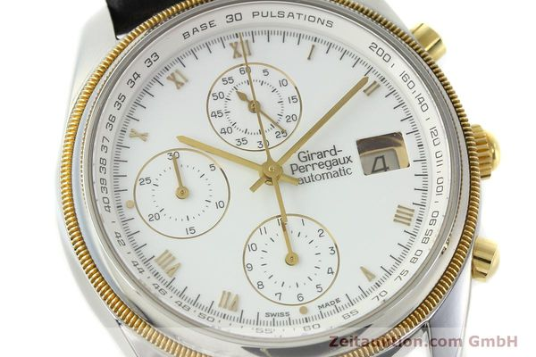 Used luxury watch Girard Perregaux * chronograph steel / gold automatic Kal. 8000-164 Ref. 4910  | 141745 02