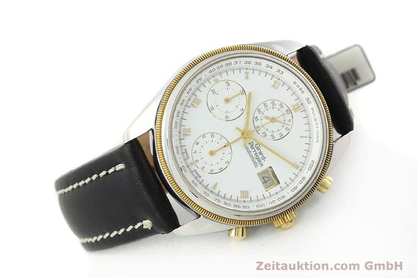 Used luxury watch Girard Perregaux * chronograph steel / gold automatic Kal. 8000-164 Ref. 4910  | 141745 03