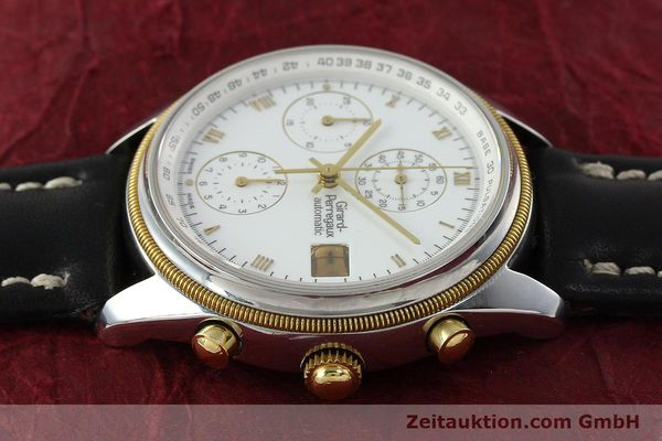 Used luxury watch Girard Perregaux * chronograph steel / gold automatic Kal. 8000-164 Ref. 4910  | 141745 05