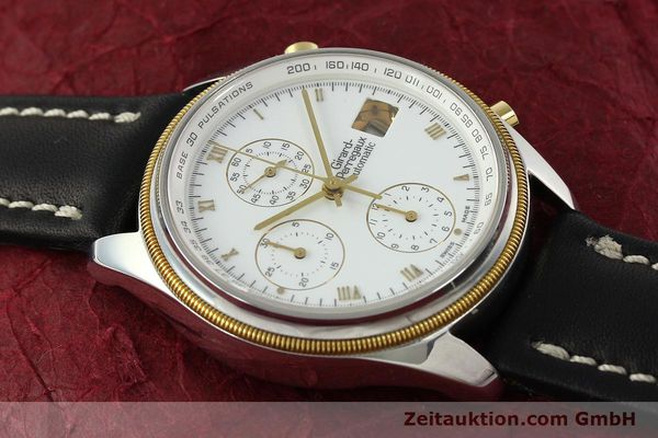 Used luxury watch Girard Perregaux * chronograph steel / gold automatic Kal. 8000-164 Ref. 4910  | 141745 14