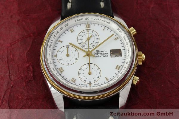 Used luxury watch Girard Perregaux * chronograph steel / gold automatic Kal. 8000-164 Ref. 4910  | 141745 15