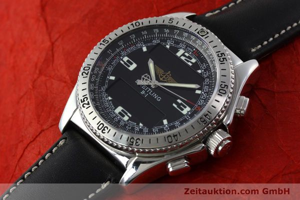 Used luxury watch Breitling B1 chronograph steel quartz Kal. B68 ETA E20.331 Ref. A68362 VINTAGE  | 141746 01