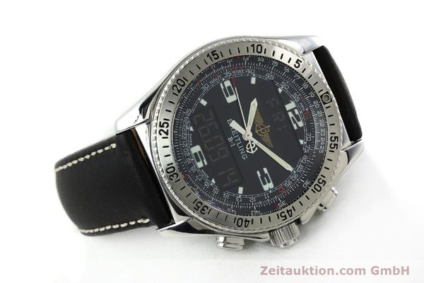 Used luxury watch Breitling B1 chronograph steel quartz Kal. B68 ETA E20.331 Ref. A68362 VINTAGE  | 141746 03