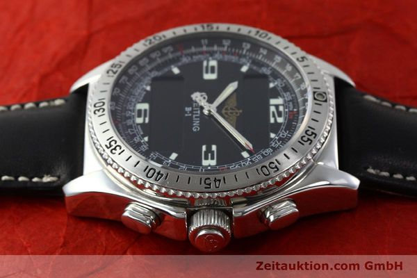 Used luxury watch Breitling B1 chronograph steel quartz Kal. B68 ETA E20.331 Ref. A68362 VINTAGE  | 141746 05