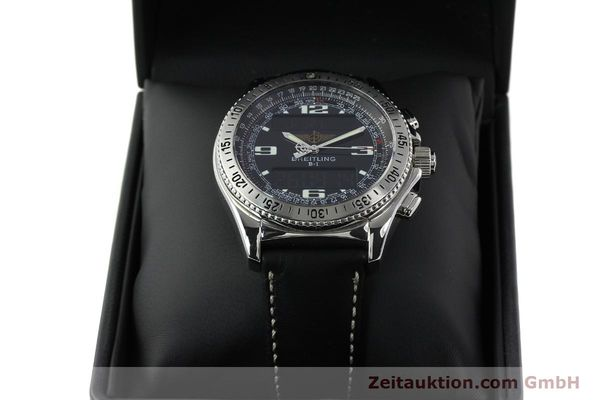 Used luxury watch Breitling B1 chronograph steel quartz Kal. B68 ETA E20.331 Ref. A68362 VINTAGE  | 141746 07