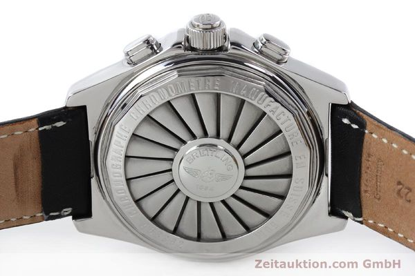 Used luxury watch Breitling B1 chronograph steel quartz Kal. B68 ETA E20.331 Ref. A68362 VINTAGE  | 141746 09