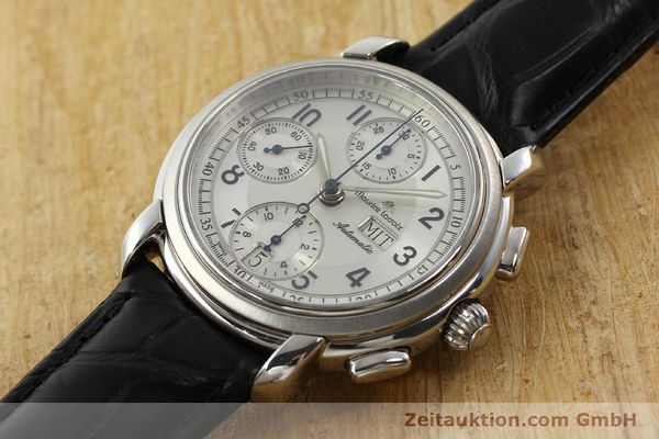 Used luxury watch Maurice Lacroix Croneo chronograph steel automatic Kal. ML 67 ETA 7750 Ref. 67668  | 141747 01
