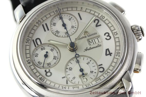 Used luxury watch Maurice Lacroix Croneo chronograph steel automatic Kal. ML 67 ETA 7750 Ref. 67668  | 141747 02