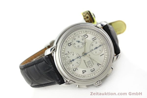Used luxury watch Maurice Lacroix Croneo chronograph steel automatic Kal. ML 67 ETA 7750 Ref. 67668  | 141747 03