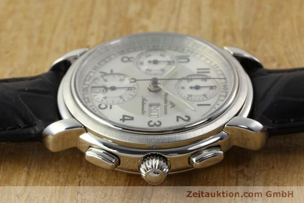 Used luxury watch Maurice Lacroix Croneo chronograph steel automatic Kal. ML 67 ETA 7750 Ref. 67668  | 141747 05
