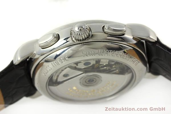 Used luxury watch Maurice Lacroix Croneo chronograph steel automatic Kal. ML 67 ETA 7750 Ref. 67668  | 141747 08