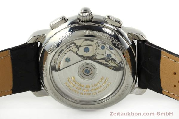 Used luxury watch Maurice Lacroix Croneo chronograph steel automatic Kal. ML 67 ETA 7750 Ref. 67668  | 141747 09