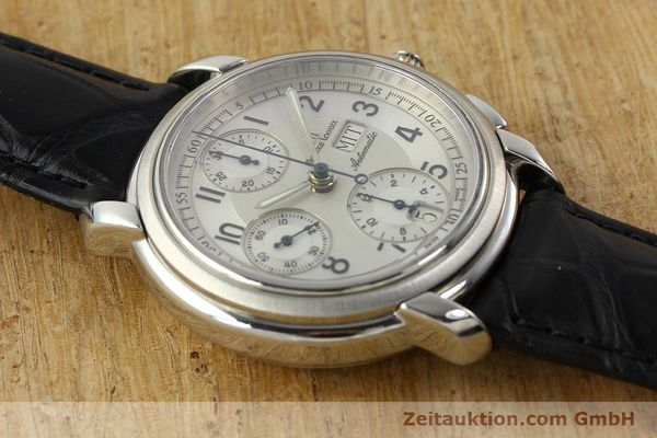 Used luxury watch Maurice Lacroix Croneo chronograph steel automatic Kal. ML 67 ETA 7750 Ref. 67668  | 141747 13