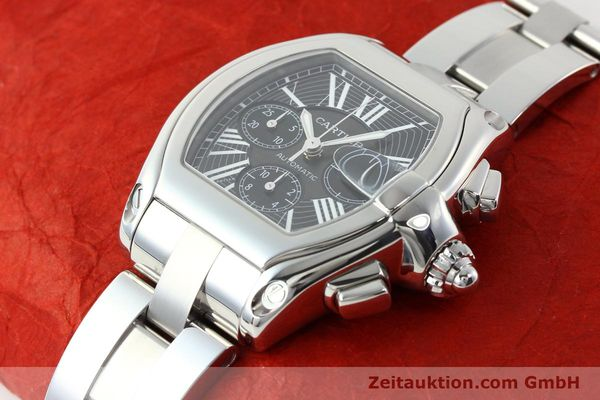 Used luxury watch Cartier Roadster steel automatic Kal. 8510 ETA 2894-2  | 141749 01