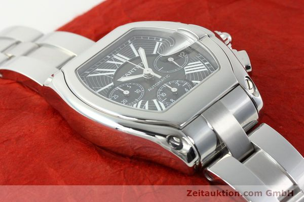 Used luxury watch Cartier Roadster steel automatic Kal. 8510 ETA 2894-2  | 141749 16