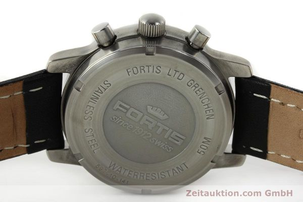 Used luxury watch Fortis Flieger chronograph steel automatic Kal. ETA 7750 Ref. 597.10.141  | 141750 09