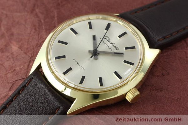 Used luxury watch Glashütte Spezimatic gold-plated automatic Kal. 74  | 141752 01
