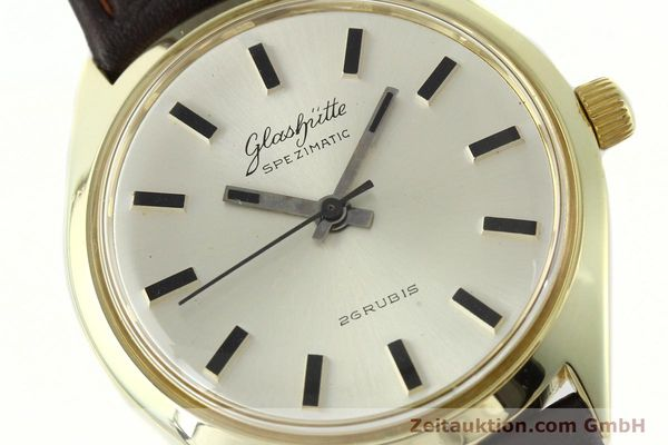 Used luxury watch Glashütte Spezimatic gold-plated automatic Kal. 74  | 141752 02