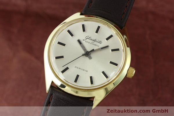 Used luxury watch Glashütte Spezimatic gold-plated automatic Kal. 74  | 141752 04