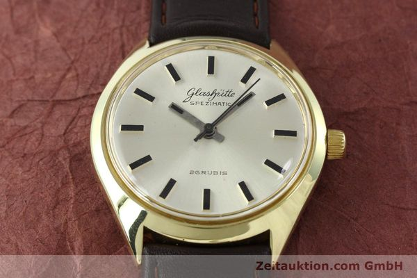 Used luxury watch Glashütte Spezimatic gold-plated automatic Kal. 74  | 141752 13