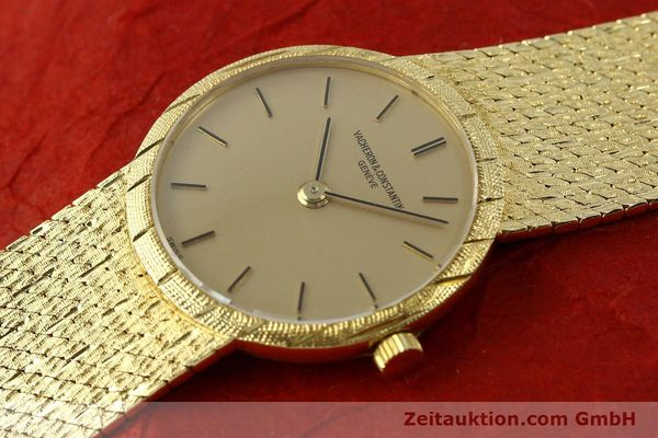Used luxury watch Vacheron & Constantin * 18 ct gold manual winding Kal. 1003 Ref. 6898  | 141757 01