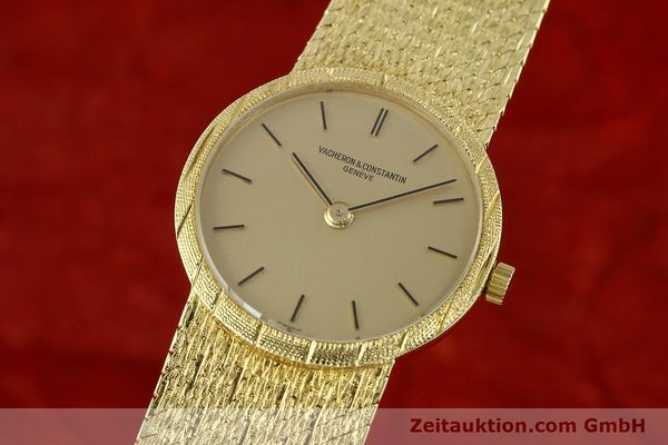 Used luxury watch Vacheron & Constantin * 18 ct gold manual winding Kal. 1003 Ref. 6898  | 141757 04
