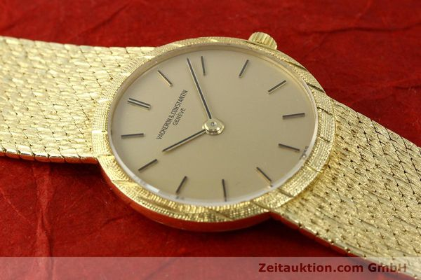 Used luxury watch Vacheron & Constantin * 18 ct gold manual winding Kal. 1003 Ref. 6898  | 141757 16