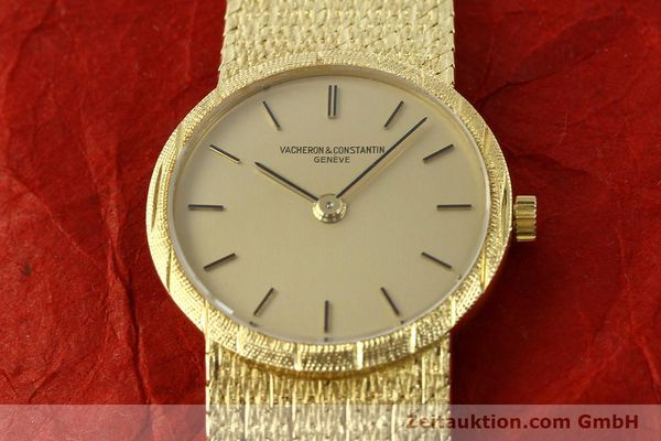 Used luxury watch Vacheron & Constantin * 18 ct gold manual winding Kal. 1003 Ref. 6898  | 141757 17