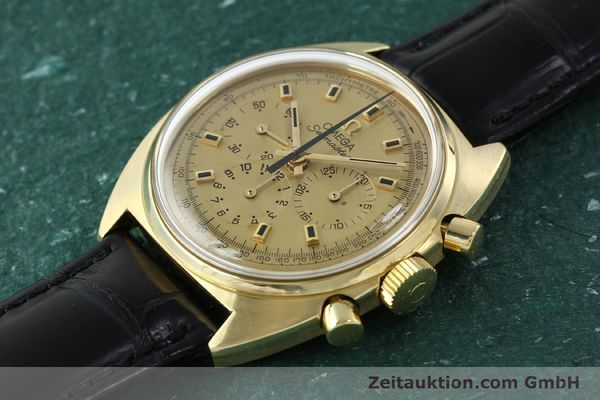 Used luxury watch Omega Seamaster 18 ct gold automatic Kal. 321 Ref. 145.006-68  | 141758 01
