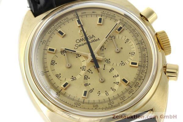 Used luxury watch Omega Seamaster 18 ct gold automatic Kal. 321 Ref. 145.006-68  | 141758 02