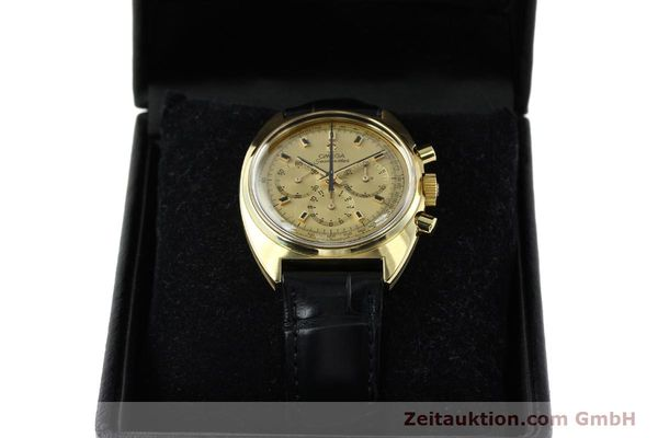 Used luxury watch Omega Seamaster 18 ct gold automatic Kal. 321 Ref. 145.006-68  | 141758 07