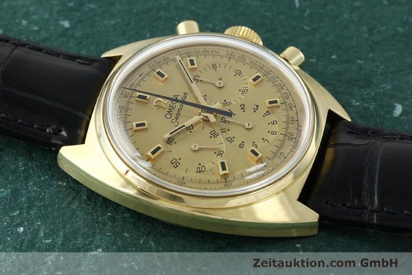 Used luxury watch Omega Seamaster 18 ct gold automatic Kal. 321 Ref. 145.006-68  | 141758 15