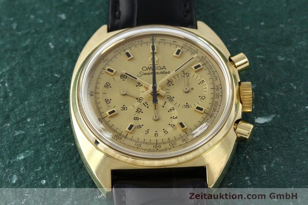 Used luxury watch Omega Seamaster 18 ct gold automatic Kal. 321 Ref. 145.006-68  | 141758 16