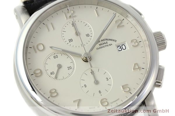 Used luxury watch Mühle Antaria chronograph steel automatic Kal. MU 9408 ETA 7750 Ref. M1-39-00  | 141760 02