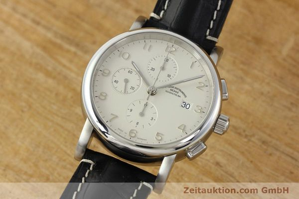 Used luxury watch Mühle Antaria chronograph steel automatic Kal. MU 9408 ETA 7750 Ref. M1-39-00  | 141760 04