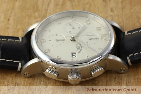 Used luxury watch Mühle Antaria chronograph steel automatic Kal. MU 9408 ETA 7750 Ref. M1-39-00  | 141760 05